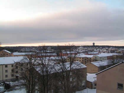 Södertälje 091229-0953 -8,6 grader
