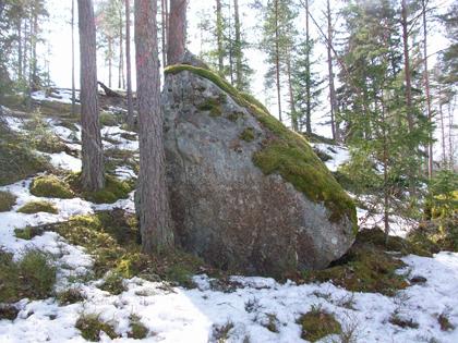 Egen cache vid Gyllen Brunnen
